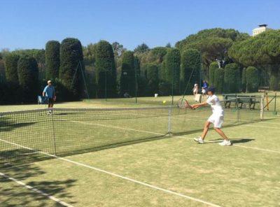 Tennis Coaching Golfe de St tropez