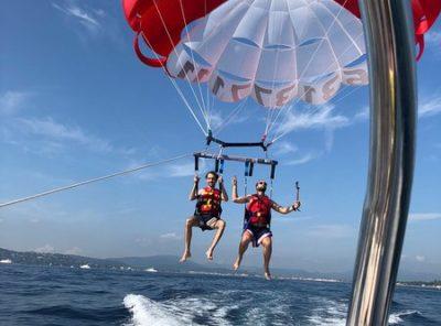 The Flying Sailor Golfe De St Tropez