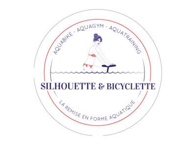 Silhouette et Bicyclette Marseille